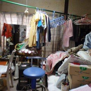 広島市にて遺品整理・貴重品の捜索をさせていただきました。の施工前