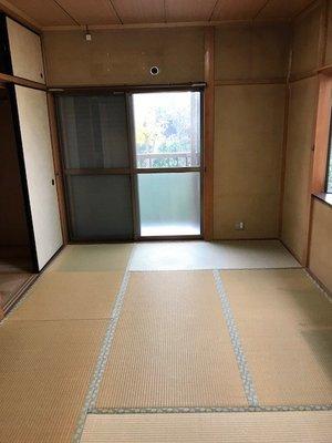 【4LDK】戸建て二階建てでの遺品整理:336,420円の施工後