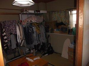 【3LDK】京都市右京区での遺品整理:198,000円の施工前