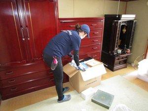 【3DK】老人ホームに入居される際の家財整理:220,752円の施工前