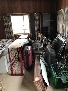 入院に伴う一軒家の片付け:11万7千円の施工前