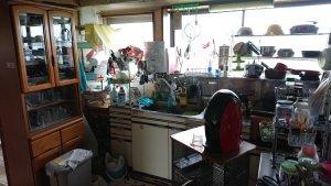 キッチンの遺品整理事例の施工前