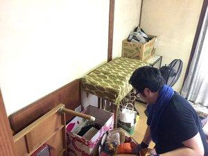 引っ越しによる残置物撤去の施工後
