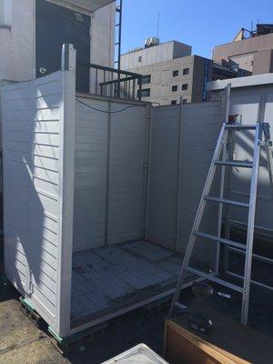川崎市宮前区での物置の整理の施工後