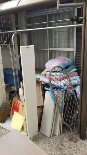 不用品回収作業④の施工前