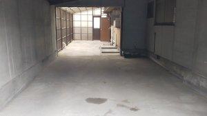 車庫の中の不用品、全撤去作業の施工後