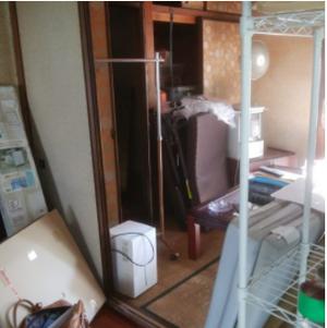 3部屋分の遺品整理:160,000円の施工前