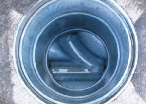ハウスクリーニング例・排水管清掃の施工後