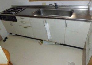 リフォーム例・キッチンの施工前