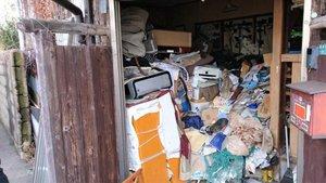 ゴミ屋敷にも対応しております。の施工前