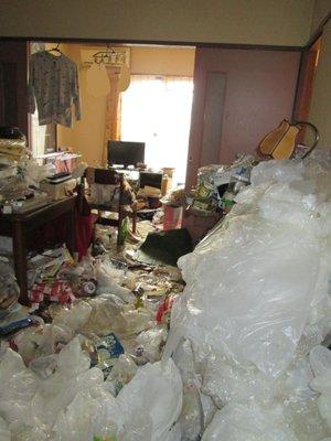 3LDKのマンションで孤立死現場の場合の施工前