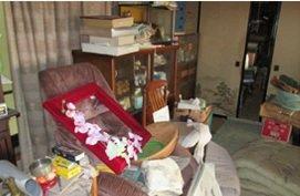 遺品整理、家屋解体のご依頼の施工前