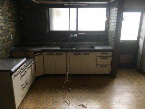 お宅兼オフィスでの大がかりな作業1:キッチンの施工後