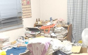 【1DK】関西で一人暮らしの方の片付けご依頼の施工前