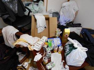 1LDKマンション事例/遺品整理・貴重品捜索の施工前