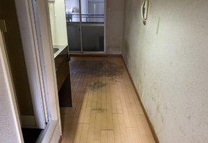 ワンルームゴミ屋敷の全撤去作業の施工後