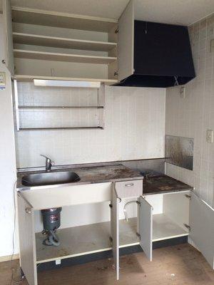 キッチン・台所の作業事例です。の施工後