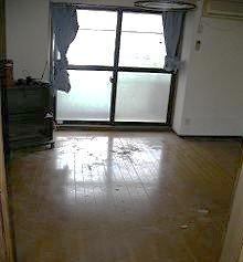 ゴミ部屋の片付けの施工後
