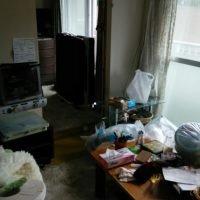 横浜市内での生前整理・遺品整理の施工前