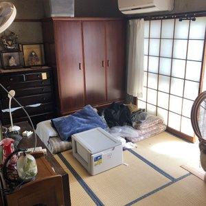 【2階戸建て4DK】 「ご遺品整理」 330,000円の施工前