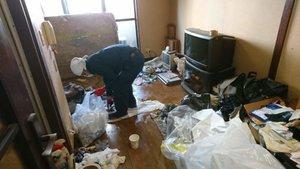 3LDKの一軒家の遺品整理の施工前