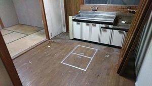 3LDKの一軒家の遺品整理の事例続き(台所)の施工後
