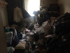 1DK:アパ-ト(ゴミ屋敷清掃)の施工前