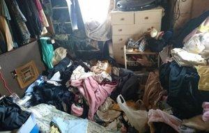 ゴミ屋が多い賃貸物件片付けのご依頼の施工前