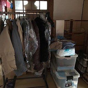 京都府での遺品整理のご依頼の施工前