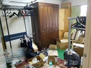 生前整理・お荷物の撤去の施工前
