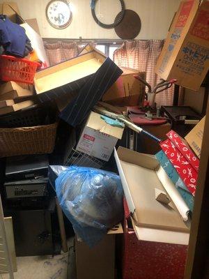 【5LDK】一軒家の遺品整理案件の施工前