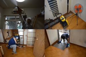 4LDK+物置の一戸建て住宅:3年間空き家のまま放置され、物件売却に伴い遺品整理の施工後