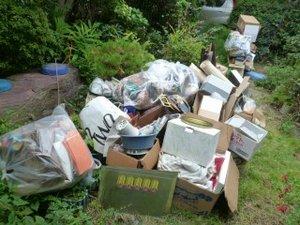 埼玉県三郷市での生前整理の施工前