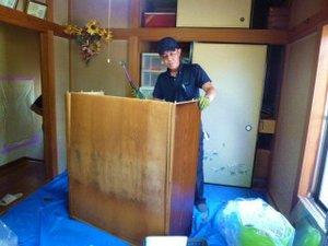 埼玉県春日部市での遺品整理の施工前