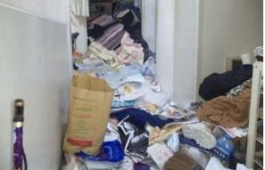 ゴミ屋敷清掃の施工前