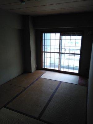 【1R】(5.5畳)の一部屋のみ片付け作業:35,000円の施工後