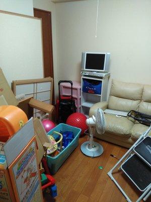 【2LDK】(70㎡)マンションの場合:20万円(買取あり)の施工前