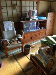 愛知県半田市での遺品整理の施工前