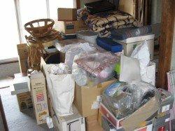 引っ越しに伴う一軒家、ご不用品回収の場合の施工前