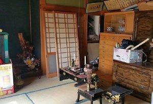 一戸建ての整理、仏壇供養と永代供養【税別320,000円】の施工前