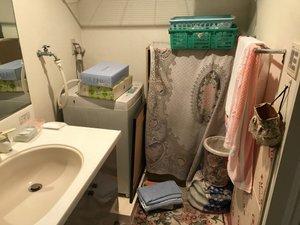 渋谷区の生前整理:老人ホーム入居に伴う家財整理の施工前