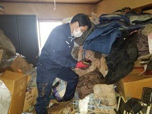 【2LDK】アパートのご遺品の整理の施工前