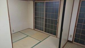 1LDKのアパート(遺品整理)の施工後