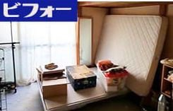 1LDK:アパートの遺品整理:50000円の施工前