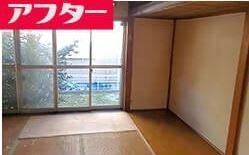 1LDK:アパートの遺品整理:50000円の施工後