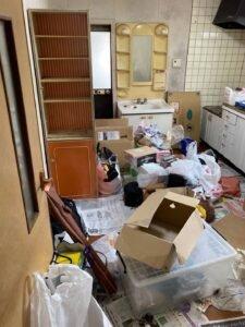 家屋売却に伴う残置整理のご依頼の施工前