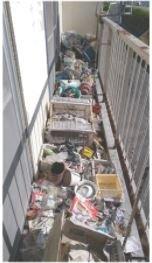 遺品整理後に家屋を売却予定の方からのご依頼の施工前