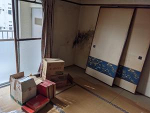 船橋市 3DK 県営住宅の遺品整理の施工前