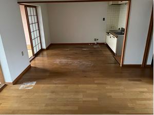 使っていないマンションの一室の片づけの施工後