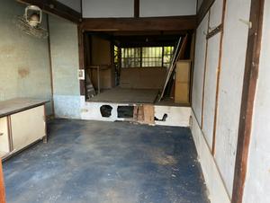 解体前の残地物撤去 一緒に片づけパックの施工後